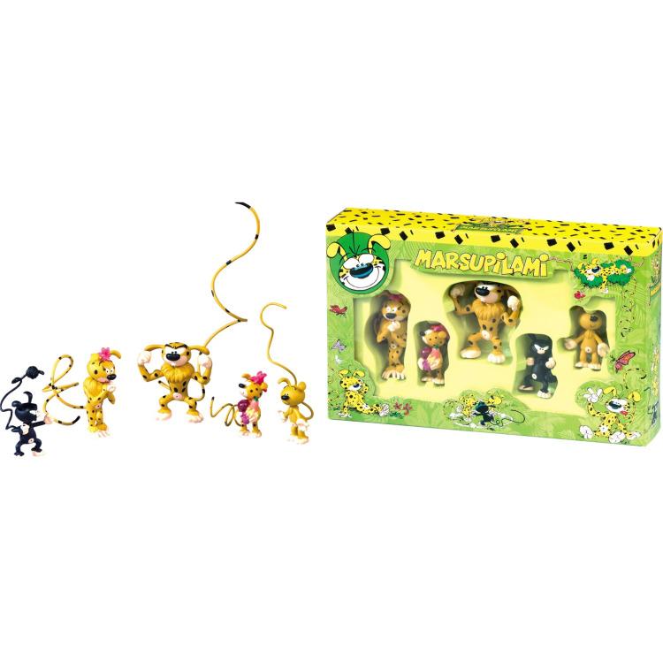 Image of Box Marsupilami (5 Figures)