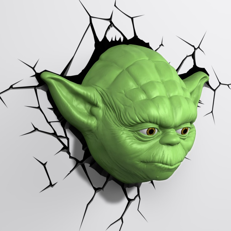 Image of 3D Light Star Wars Joda