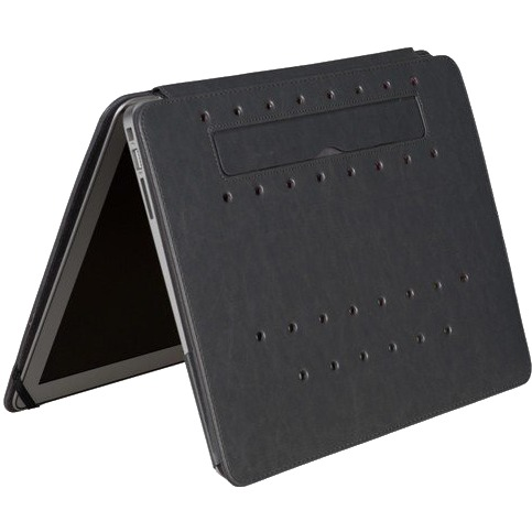 "Gecko Covers Luxe Stand-Case voor MacBook Air 13"" - Grijs"