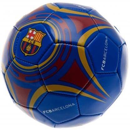 Image of Bal Barcelona Leer Middel Rood/blau