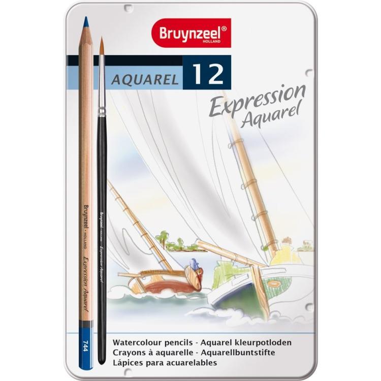 Expression Blik 12 Aquarel - Potloden