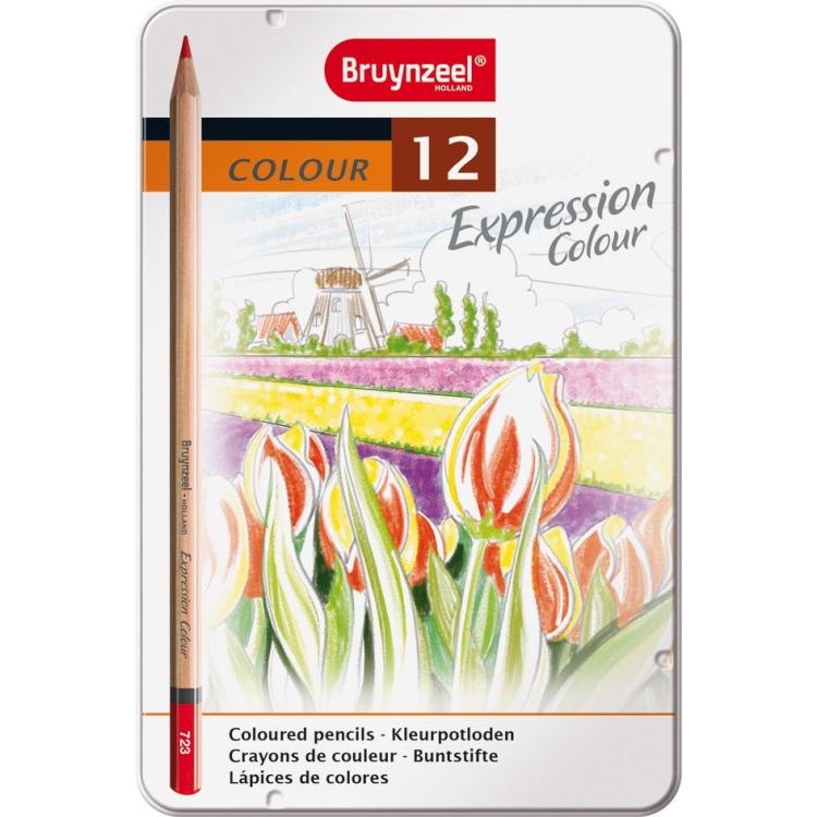 Image of Bruynzeel Expression blik 12 kleurpotloden