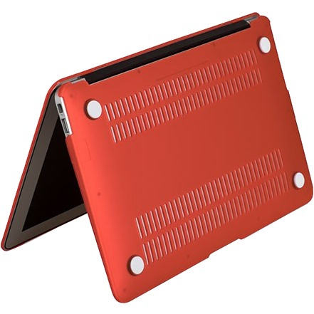 Gecko Covers 'Clip On' hoes voor MacBook Air 11 inch - Rood
