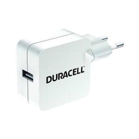Duracell USB 230V Charger 2.4A White (DRACUSB2W-EU)