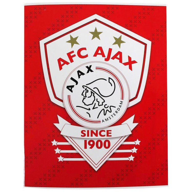Ajax 2015-2016 schrift A4 gelijnd