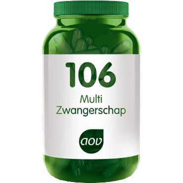 Image of 106 Multi Zwangerschap, 60 Vegacaps