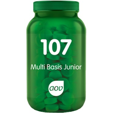 Image of 107 Multi Basis Junior, 60 Kauwtabletten