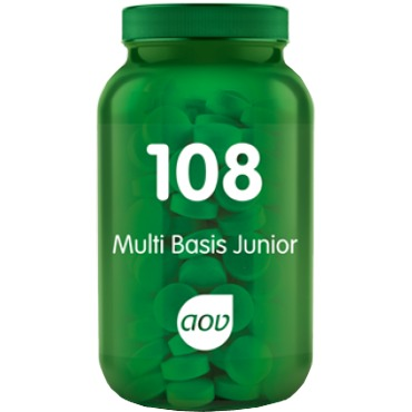 Image of 108 Multi Basis Junior, 180 Kauwtabletten