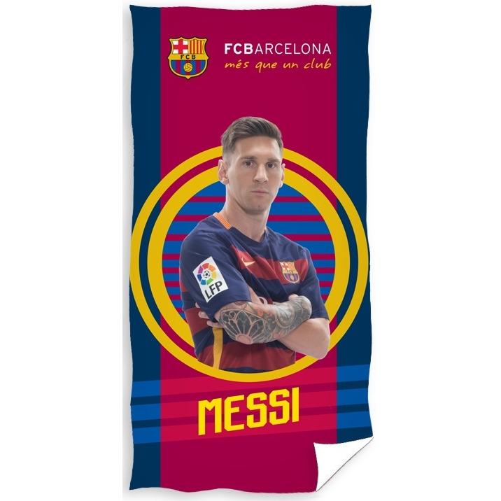 Image of Badlaken Barcelona Messi: 70x140 Cm
