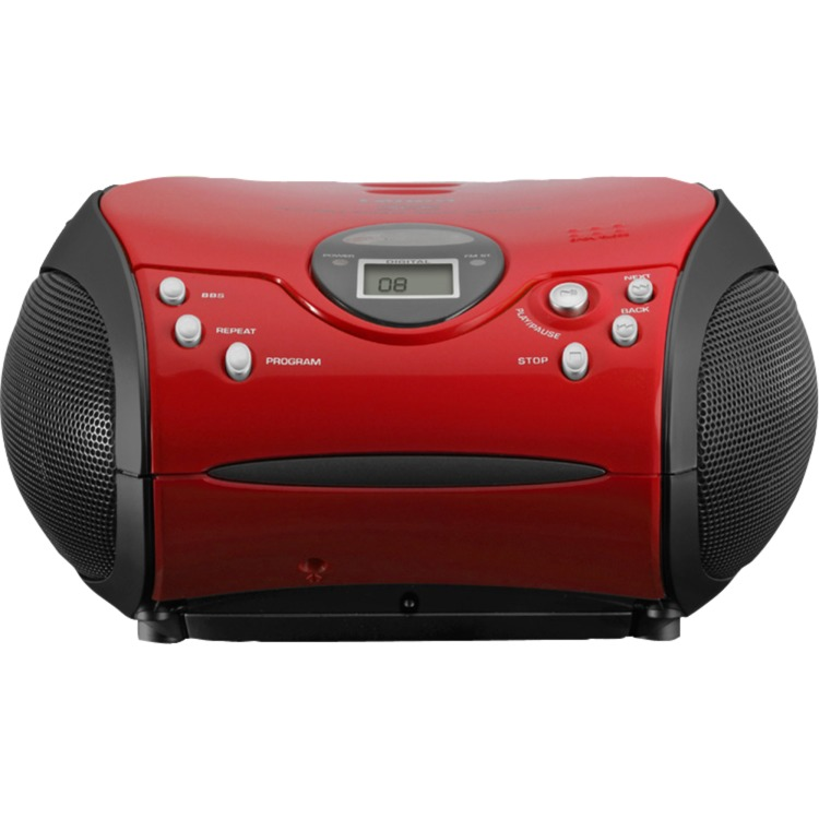 Lenco SCD-24RED-BPORTRAD CD    LE
