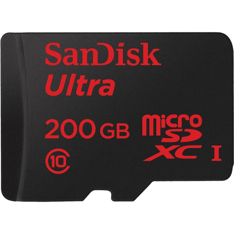 Sandisk Sandisk, Micro SDXC Ultra 200GB 90MB-s + SD Adapter Android (139700)