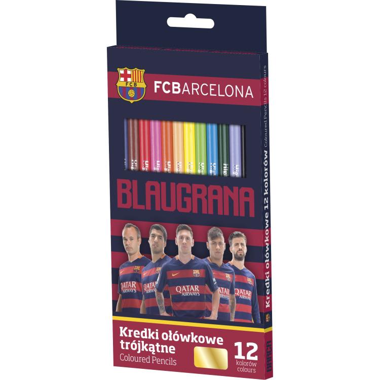 Image of Barc Kleurpotloden Barcelona: 12 Stuks