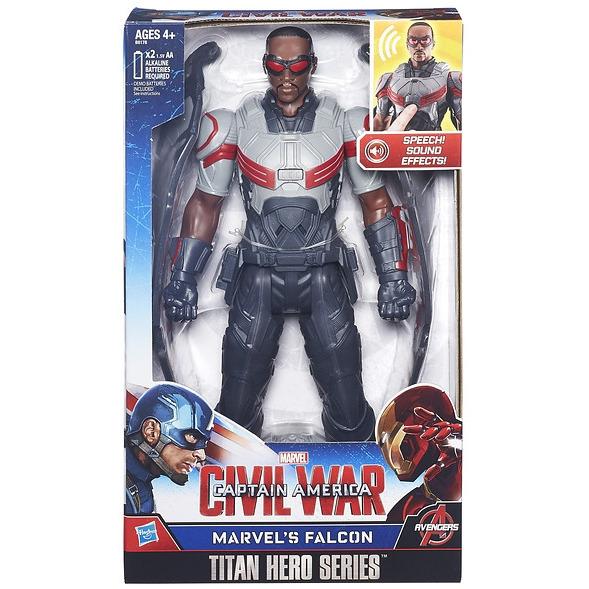 Action Figure Avengers 30 Cm Electronic: Falcon