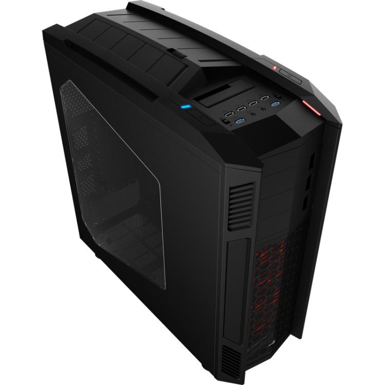 Image of Aerocool EN58164 Toren Zwart computerbehuizing