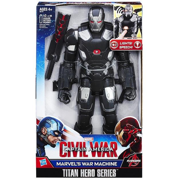 War Machine elektronisch figuur 30 cm