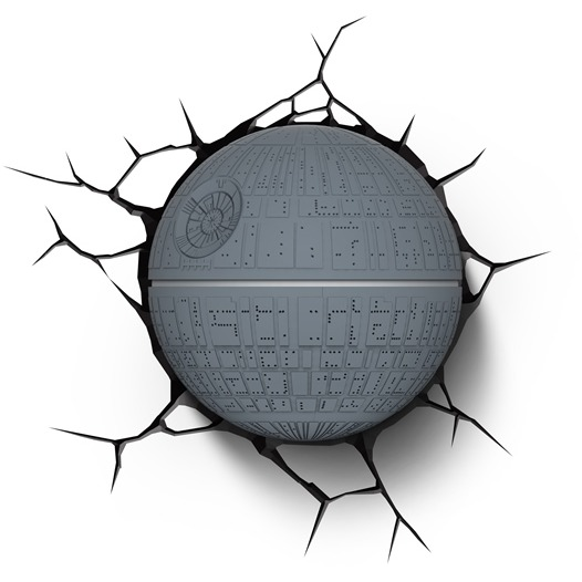 Image of 3D Light Star Wars Death Star