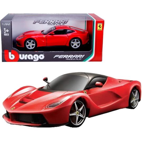 Image of BBURAGO Ferrari Laferrari 1:24 Preassembled Supercar