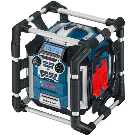 Image of Bosch Bouwradio GML50 Powerbox 360 Deluxe