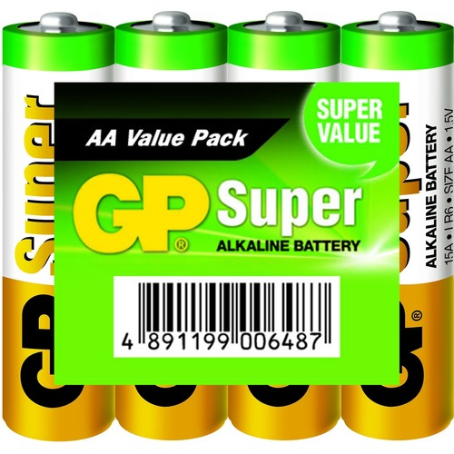Batterij Alkaline Aa/lr6 1.5 V Super Display 48x 4-foil