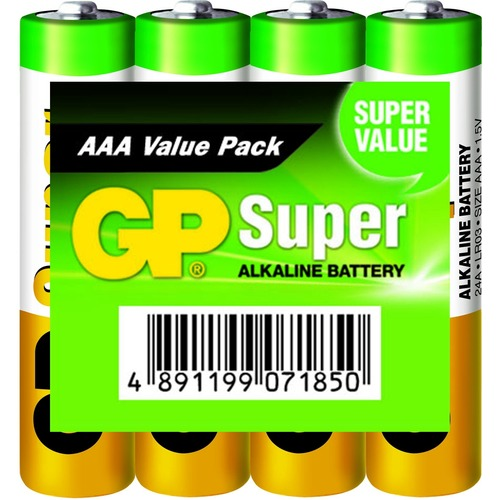 Batterij Alkaline Aaa/lr03 1.5 V Super Display 48x 4-foil