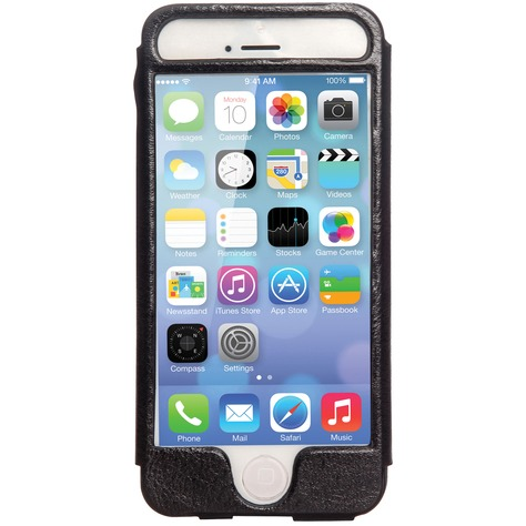 Mosaic Theory Mtel21-001 blk Phone Case Leather For Iphone 5s-5 Black