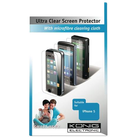 König Csiph5 suc100 Ultra Clear Screenprotector voor Iphone 5-5s-5c