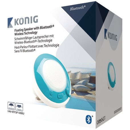 Image of Drijvende Bluetooth Speaker - Wit