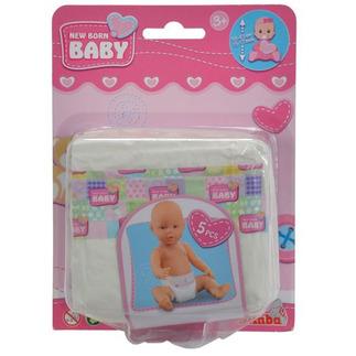 New Born Baby Luiers (5 stuks)