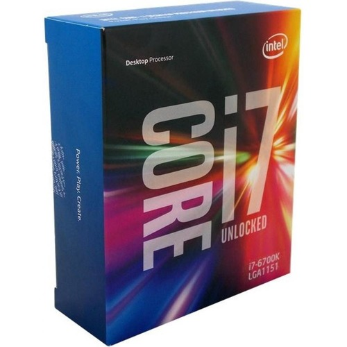 Intel INTEL Core I7-6700K 4,0GHz LGA1151 Box (BX80662I76700K)