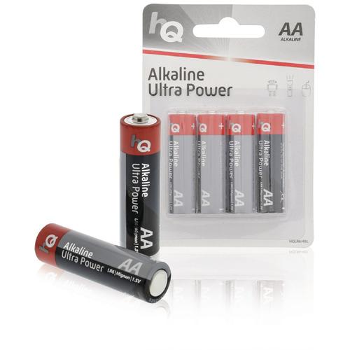 Alkaline AA-batterij blister 4 stuks
