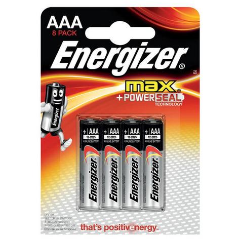 Energizer Ultra+ AAA batterij (potlood) Alkali-mangaan 1.5 V 8 stuks