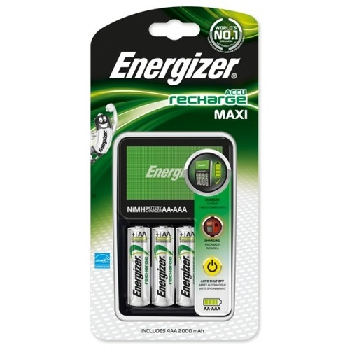 Energizer Batterijlader Energizer Maxi + 4xAA (321401)
