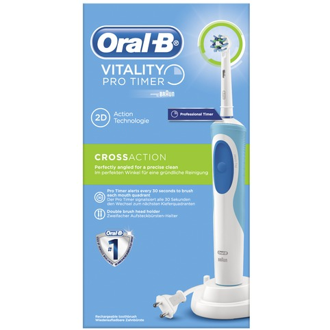 Image of Braun Tandenb.Vitality Cross Action + Timer