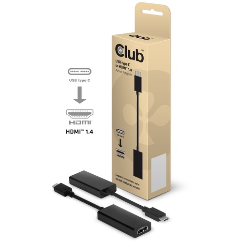 Image of Club3D Adapter USB Type C > HDMI 1.4