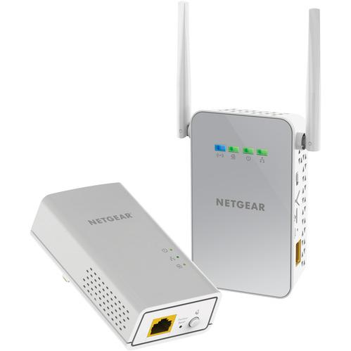 Netgear 1PT GIGABIT PWLINE AV2 AC650 BUNDLE (PLW1000-100PES)