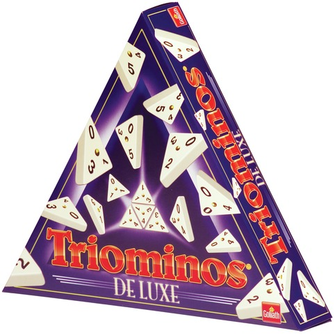 Triominos De Luxe Volwassenspel