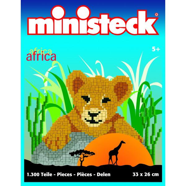 Afrika: Leeuwenwelpje, ca. 1300 stukjes