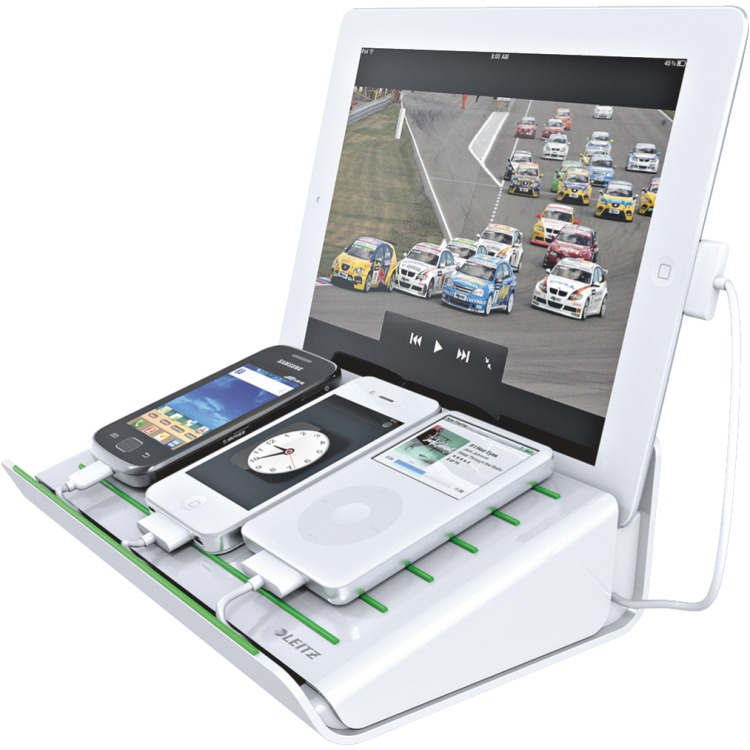 Leitz Multifunctionele Bureaulader Complete iPhone-iPad Wit