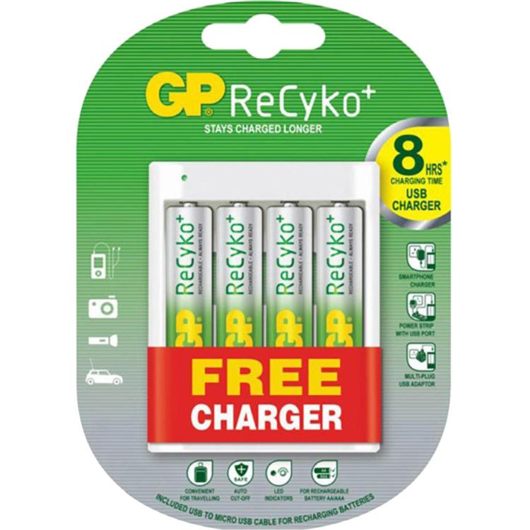 GP Batteries AA oplaadbare batterij (penlite) NiMH 1.2 V 2000 mAh 4 stuks