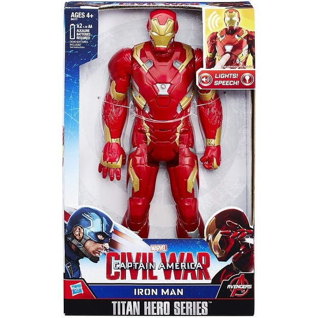 Action Figure Avengers 30 Cm Electronic: Iron Man