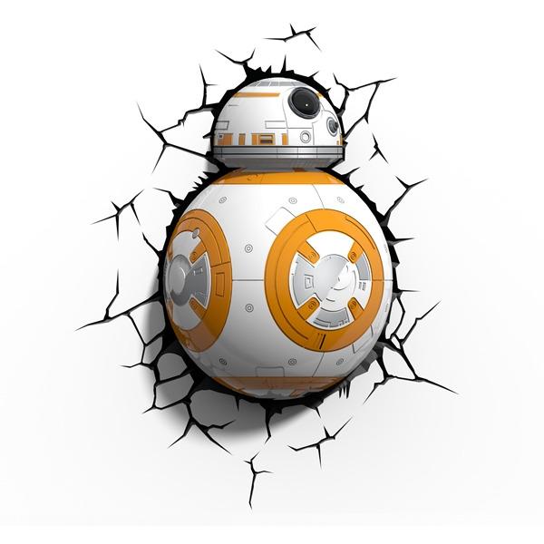 3d Light Star Wars Bb-8