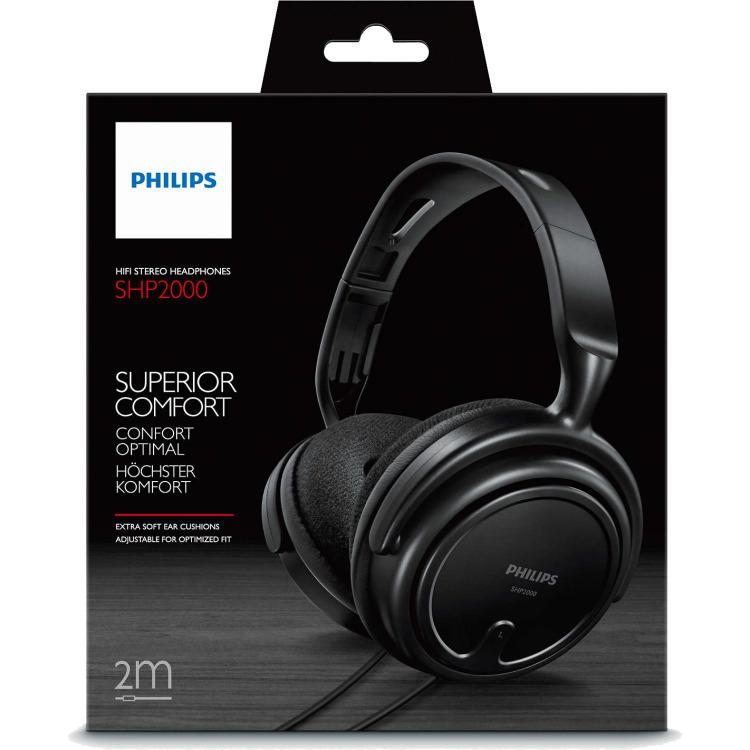 Philips SHP2000 Fullsize Stereo Hoofdtelefoon
