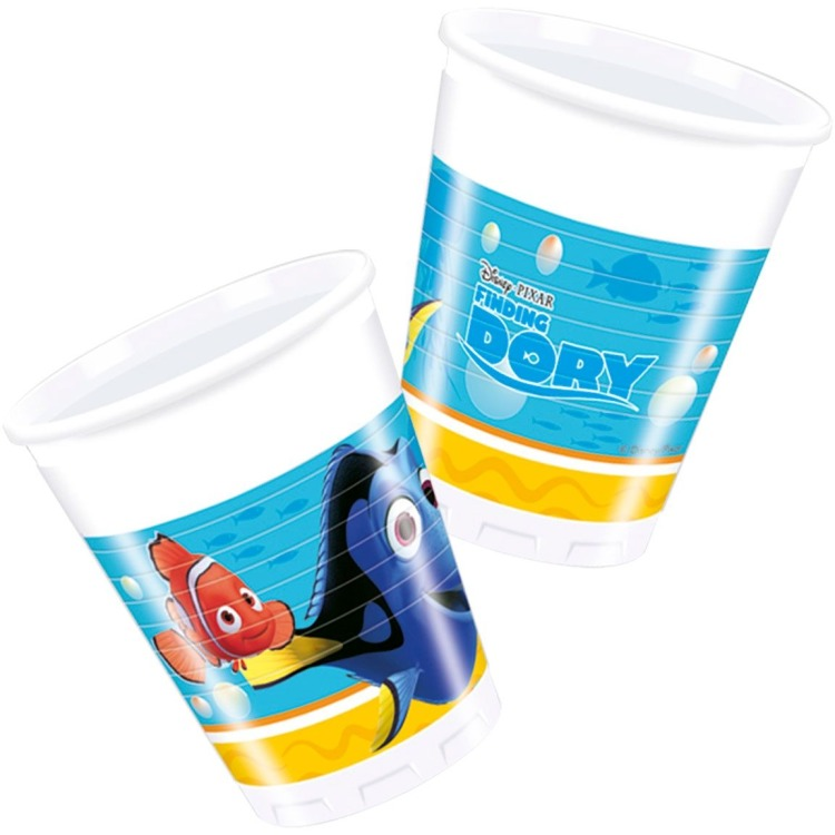 Image of 8 Plastikbecher 200ml Dory