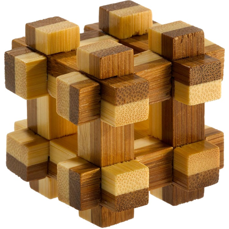 Image of 3D Bamboo Breinpuzzel Prison House ****