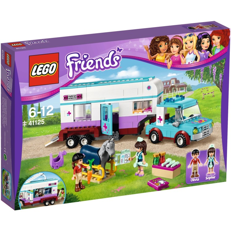 LEGO Friends paardendoktertrailer 41125