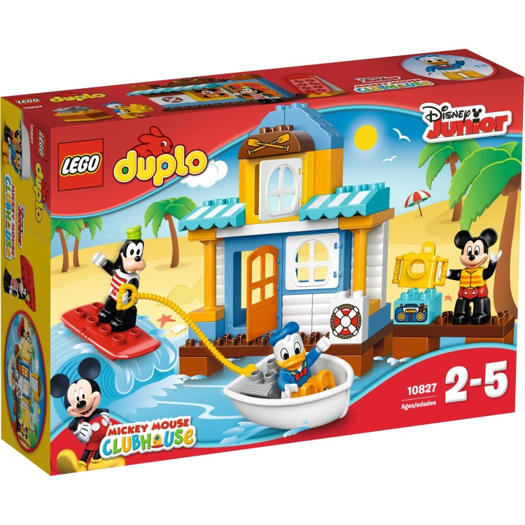 10827 Lego Duplo Mickey & Friends Strandhuis
