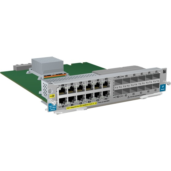 Image of 12-port Gig-T PoE+/12p SFP v2 zl module (J9637A)