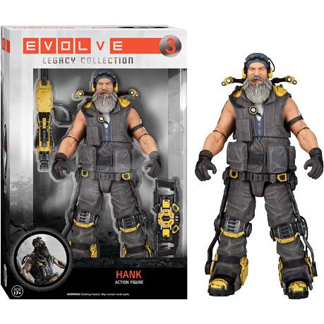 Evolve Hank Legacy Action Figure