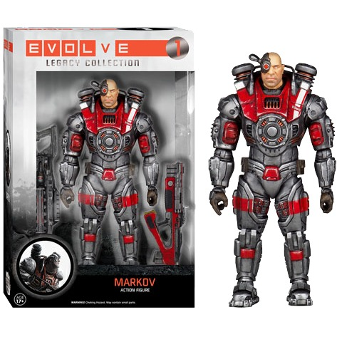 Evolve Markov Legacy Action Figure