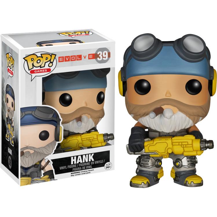 Evolve Hank Pop! Vinyl Figure